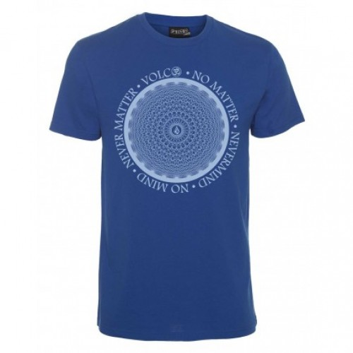 Camiseta Volcom Distilled T-Shirt True Blue