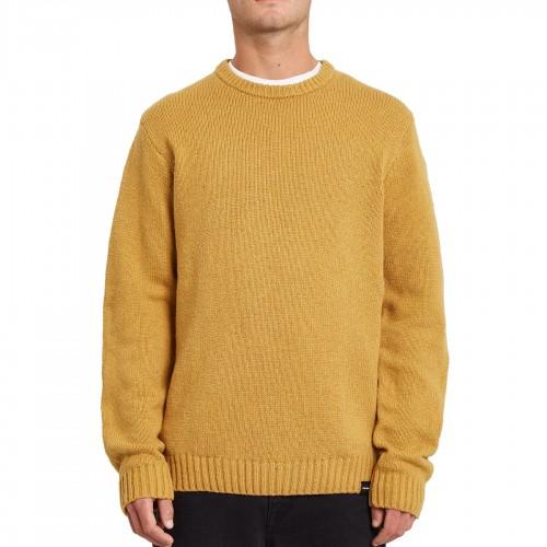 Jersey Volcom Edmonder Sweater Mustard Gold