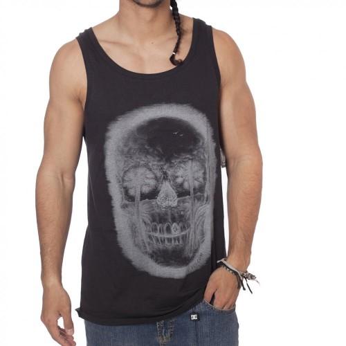 Camiseta Volcom Feathers Tank Top Tinted Black