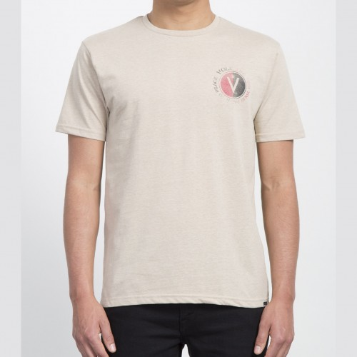 Camiseta Volcom Find Heather Tee Oatmeal