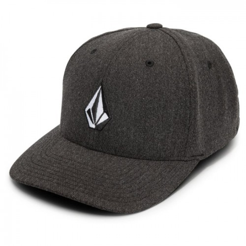 Gorra Volcom Full Stone Hthr Xfit Charcoal Heather