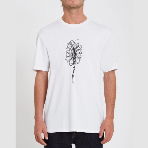 Camiseta Volcom Issam Hand Tee White