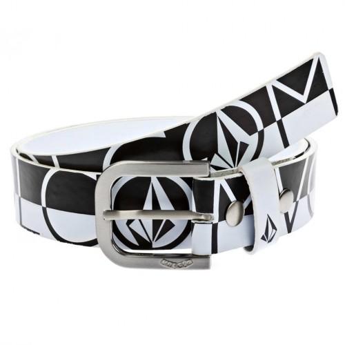 Cinturón Volcom One Pu White/Black