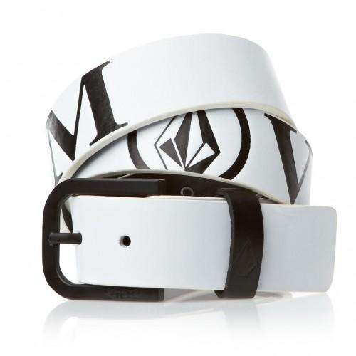 Cinturón Volcom Serif Pu White