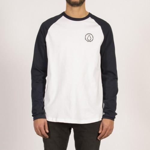 Camiseta Volcom Sludge HW LS Navy