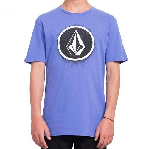 Camiseta Volcom Spray Stone Tee Dark Purple