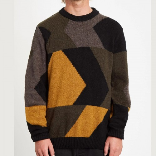 Volcom Williekearl Sweater Golden Brown