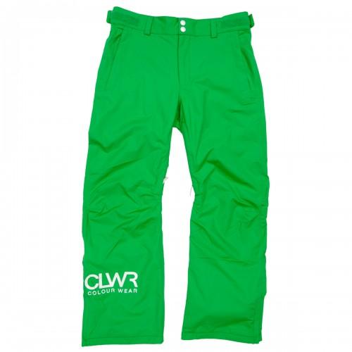 Pantalones de snowboard Wear Colour Base Pants Turf Green