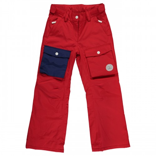Pantalones de snowboard Wear Colour Poke Pants Red