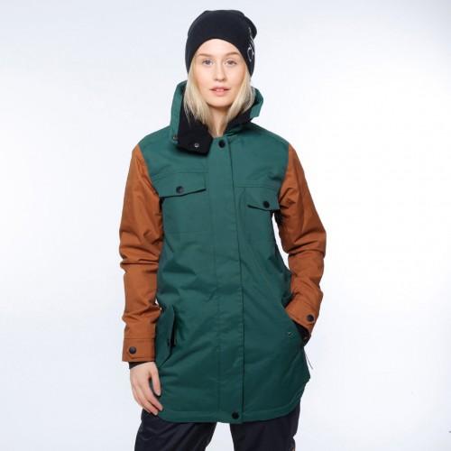 Chaqueta de snowboard Wear Colour Raid Jacket Bottle Green