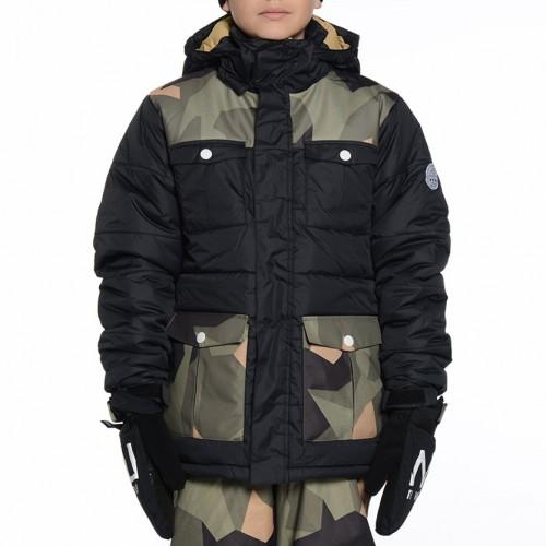 Chaqueta de snowboard Wear Colour Trooper Camo