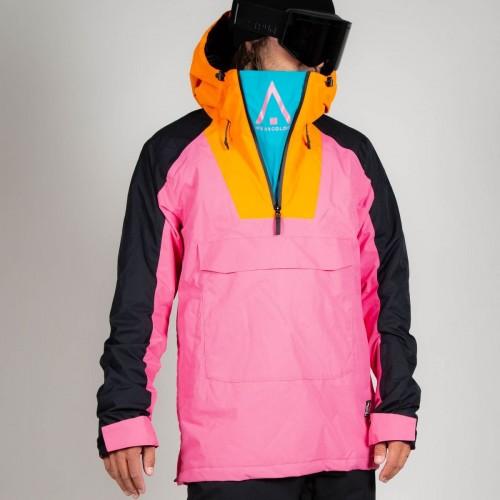 Chaqueta de snowboard Wear Colour Wear Anorak Post Pink