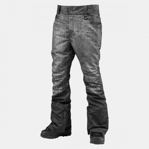 Pantalones de snowboard Westbeach Longhorn Pants Black Dirty Denim