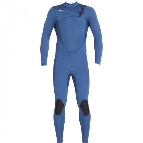 Neopreno de surf Xcel 4/3 Comp Wetsuit CZ Cascade Blue