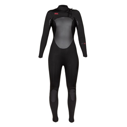 Neopreno de surf Xcel 4/3 Womans Axis X Wetsuit CZ Black