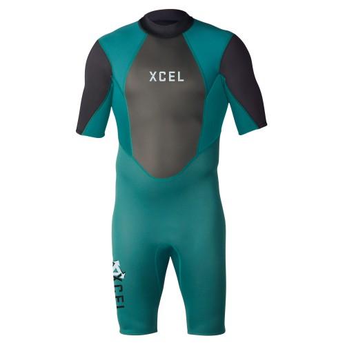 Neopreno de surf Xcel Axis Springsuit 2mm Spruce