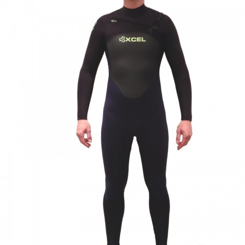 Neopreno de surf Xcel Axis X2 4/3 CZ Black