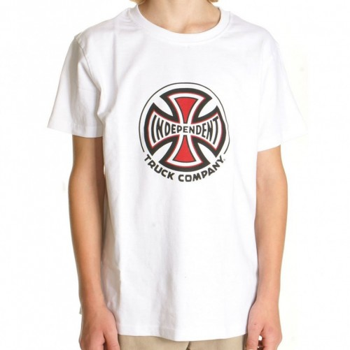 Camiseta Independent Truck Co Youth Tee White