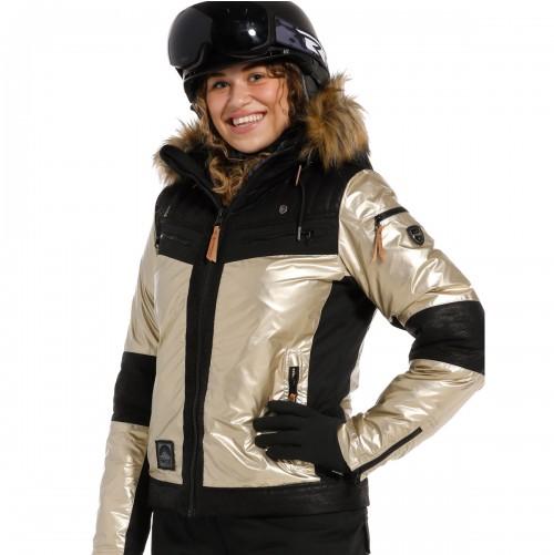 Chaqueta de snowboard Rehall Hannah-R Gold