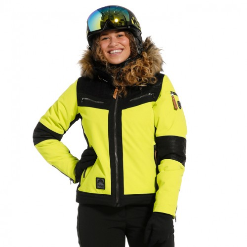 Chaqueta de snowboard Rehall Hannah-R Lime