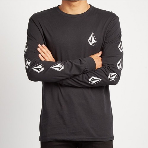 Camiseta Volcom Deadly Stone Black