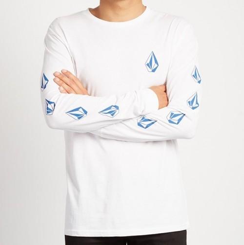 Camiseta Volcom Deadly Stone White