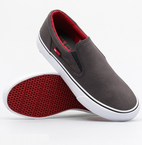 Zapatillas DC Trase Slip-On TX Grey/Black/Red