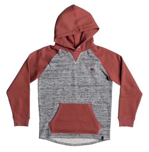 Sudadera Quiksilver Stimpies Mineral Red