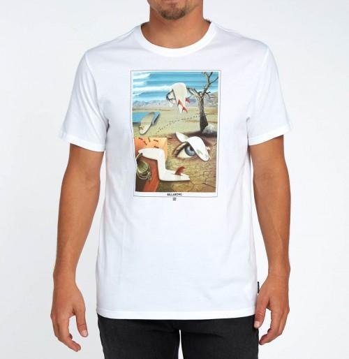 Camiseta Billabong Melted Tee White