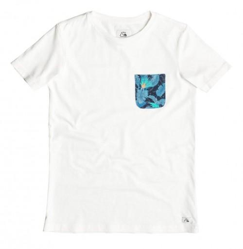 Camiseta Quiksilver Pick Pocket T-Shirt White
