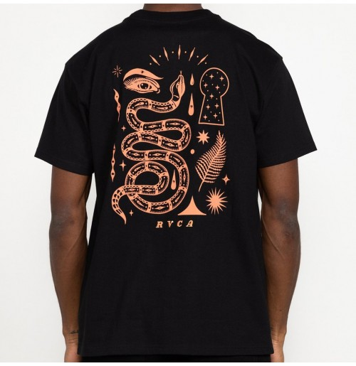 Camiseta RVCA Jesse Brown Fauna Tee Black