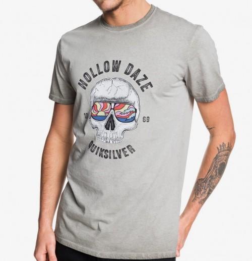 Camiseta Quiksilver Hollow Dayz Tee Sleet