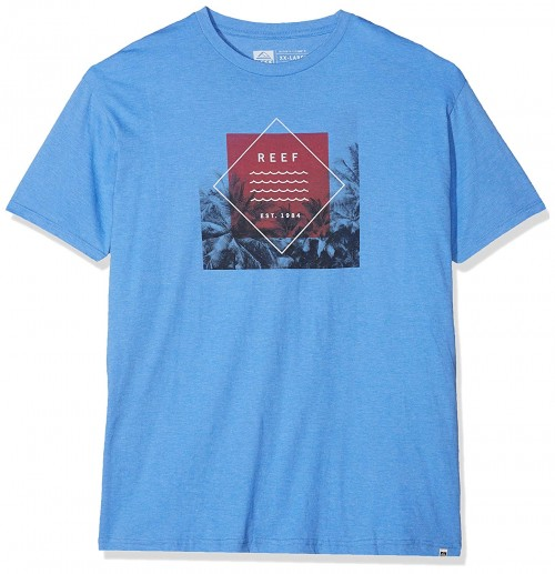 Reef Current Tee Royal Heather