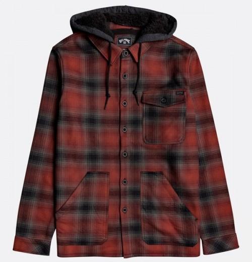 Camisa Billabong Furnace Bonded Red