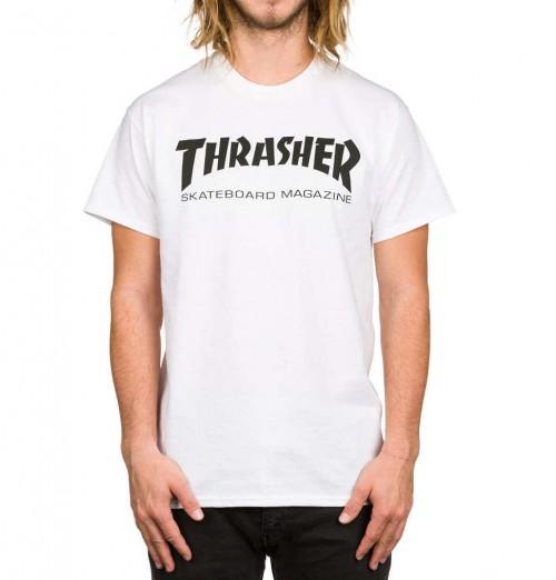 Camiseta Thrasher Skate Mag T-Shirt White