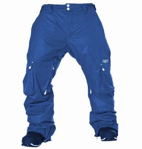 Pantalones de snowboard Wear Colour Cargo Pants Navy