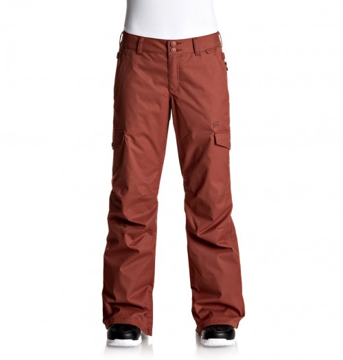 Pantalones de snowboard DC Ace Pants Burnt Henna