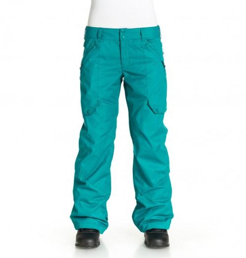 Pantalones de snowboard DC Ace Woman Pants Harbor Blue-Solid