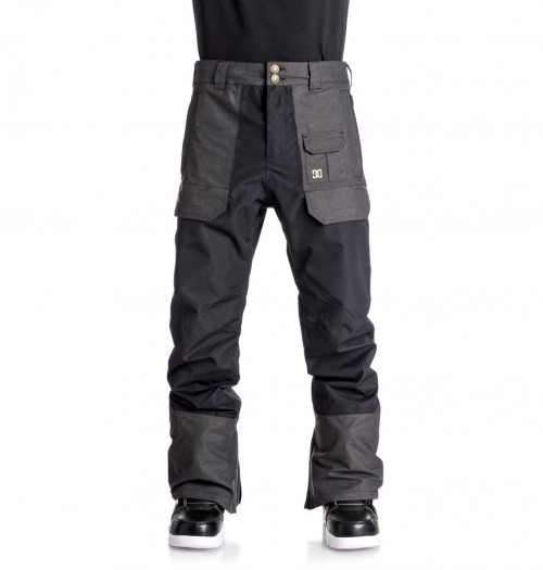 Pantalones de snowboard DC Asylum Pants Black