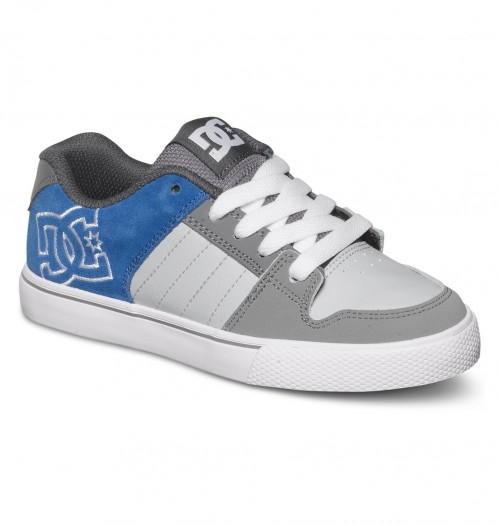 Zapatillas de bebé DC Chase Grey/Grey/Blue