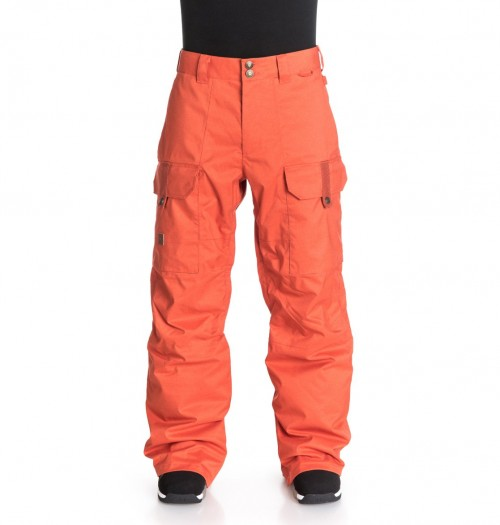 Pantalones de snowboard DC Code Pants Burnt Ochre-Solid