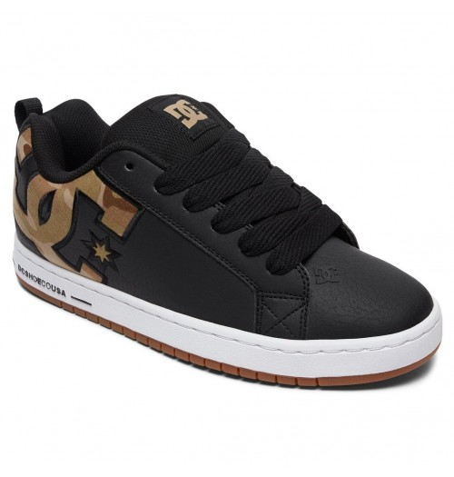 Zapatillas DC Court Graffik SE Black/Military Camo