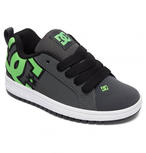 Zapatillas de bebé DC Court Graffik SE Green/Grey/White 2018-1