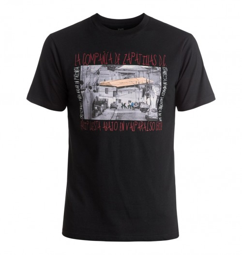 Camiseta DC Crew Downhill Chile SS Black