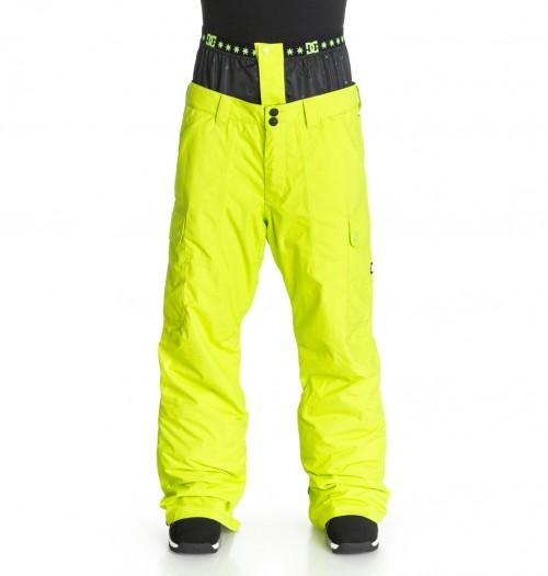 Pantalones de snowboard DC Donon Pants Lime Punch