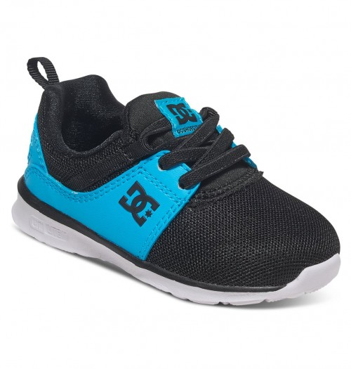 Zapatillas de bebé DC Heathrow Black/Blue