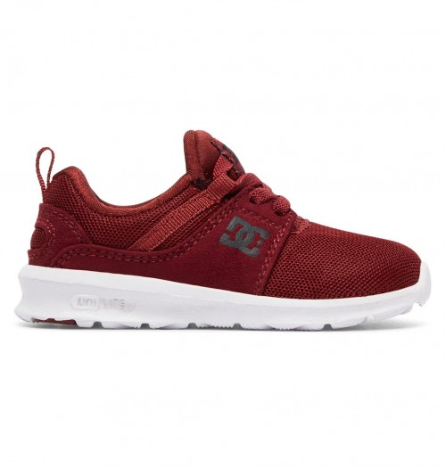 Zapatillas de bebé DC Heathrow Deep Red