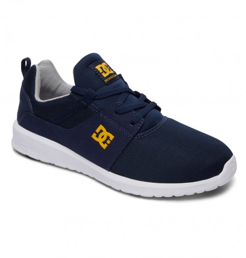 Zapatillas DC Heathrow Navy/Gold