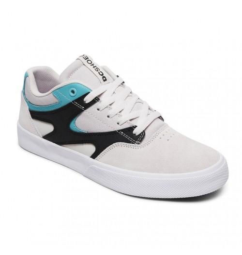 Zapatillas DC Kalis Vulc Grey/Black/White