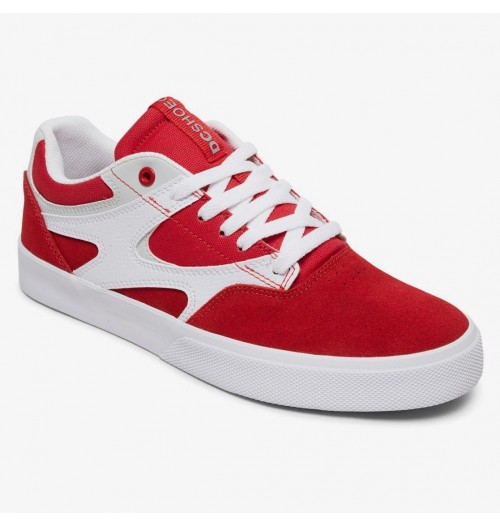 Zapatillas DC Kalis Vulc Red/White